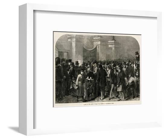 Edward VII Ill Again 71--Framed Giclee Print
