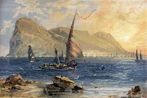 Gibraltar by Edward Whymper