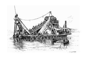 Panama Dredger 2 1889 by Edward Whymper