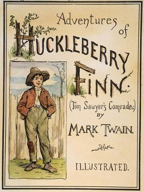 Huck Finn, 1885 by Edward Windsor Kemble
