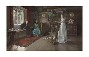 An Old Song by Edwin Austin Abbey