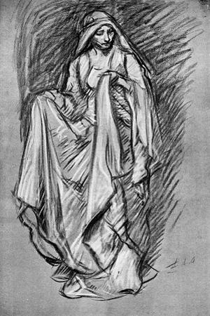Sketch of Regan, from King Lear, 1899