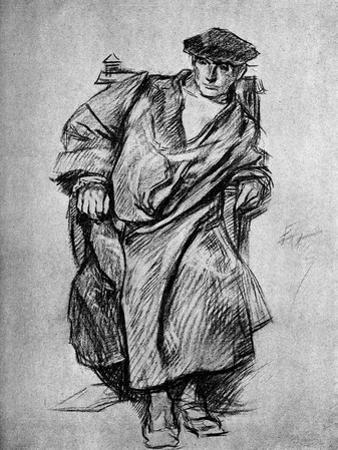 Study for Gown, Court of Henry VIII, 1899
