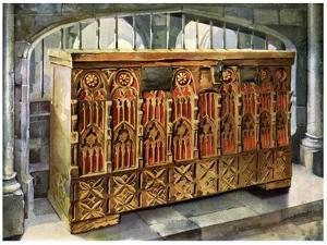 14th Century Buttressed Coffer, 1910 by Edwin Foley
