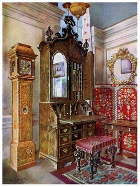 A Group of Early 18th Century Furniture, 1910 by Edwin Foley