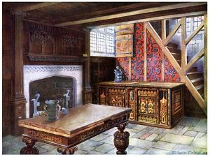 Inlaid Nonsuch Chest, 1910 by Edwin Foley