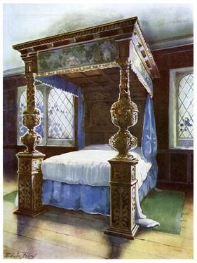 The Littlecote Bedstead, 1910 by Edwin Foley