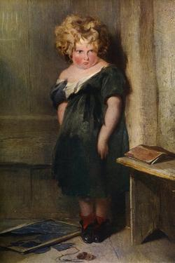 A Naughty Child, 19th Century by Edwin Henry Landseer