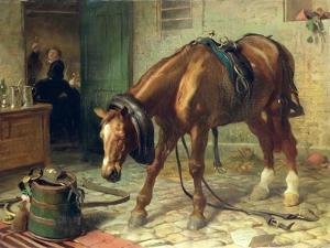 Adversity by Edwin Henry Landseer