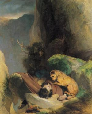Attachment by Edwin Henry Landseer