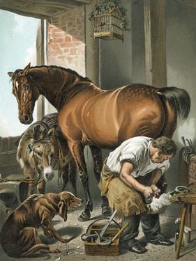 Blacksmith by Edwin Henry Landseer