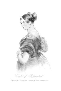 Countess Blessington by Edwin Henry Landseer
