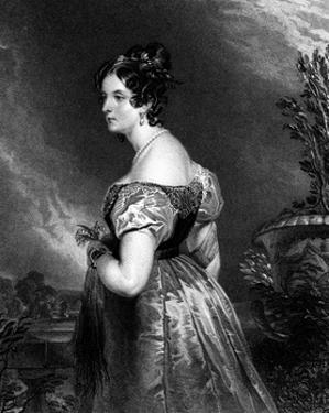 Georgiana, Duchess of Bedford by Edwin Henry Landseer
