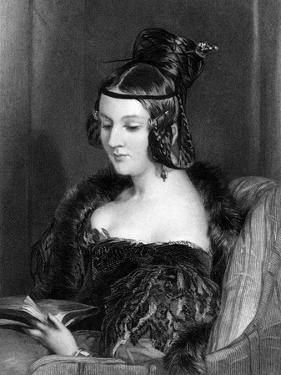 Georgiana Romilly by Edwin Henry Landseer