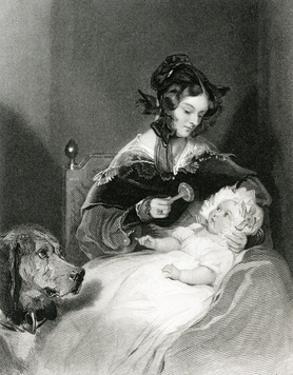 Louisa, Duchess Abercorn by Edwin Henry Landseer