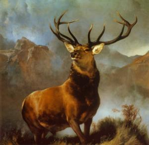 Monarch of the Glen by Edwin Henry Landseer