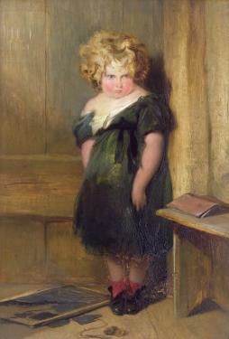 Naughty Child by Edwin Henry Landseer