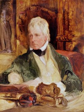 Portrait of Sir Walter Scott, c.1824 by Edwin Henry Landseer