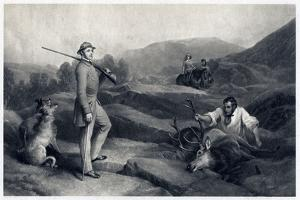 Prince Albert Stag Hunting, Mid-19th Century by Edwin Henry Landseer