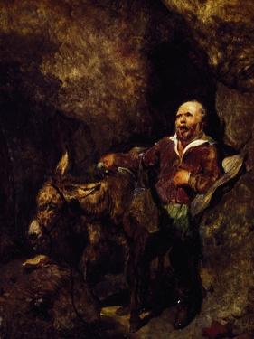 Sancho Panza and His Donkey by Edwin Henry Landseer