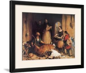 Scene at Bolton Abbey by Edwin Henry Landseer