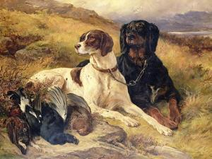 Serving the Guns by Edwin Henry Landseer