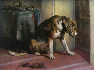 Suspense, 19th Century by Edwin Henry Landseer