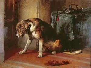 Suspense by Edwin Henry Landseer