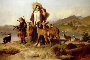 The Forester's Family by Edwin Henry Landseer