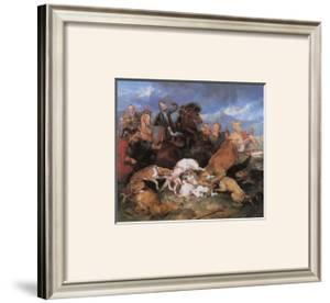 The Hunting of Chevy Chase by Edwin Henry Landseer