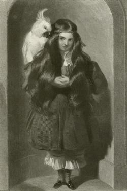 The Lady Blanche Egerton by Edwin Henry Landseer