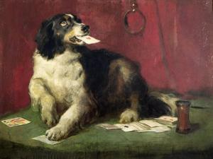 The Trickster by Edwin Henry Landseer