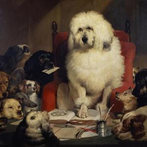 Trial by Jury, or Laying Down the Law, C.1840 by Edwin Henry Landseer