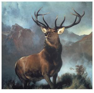 Monarch Of The Glen by Edwin Landseer