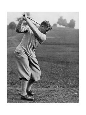 Bobby Jones, The American Golfer May 1932 by Edwin Levick
