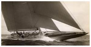 J Class Sailboat, 1934 by Edwin Levick