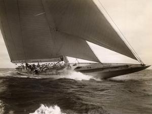 J Class Sailboat, 1934 by Edwin Levick