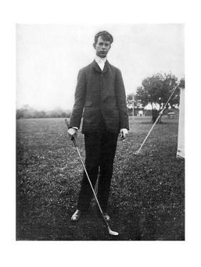 Louis N. James, The American Golfer November 1928 by Edwin Levick