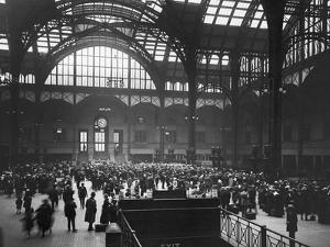Penn Station by Edwin Levick