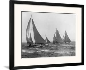 Sloops at Sail, 1915 by Edwin Levick