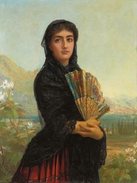 Gibraltar, 1886 by Edwin Longsden Long