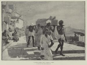A Fakir's Funeral, India by Edwin Lord Weeks