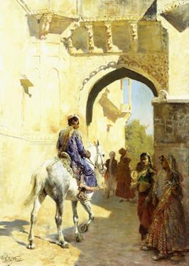 An Arab Scene, 1884-89 by Edwin Lord Weeks
