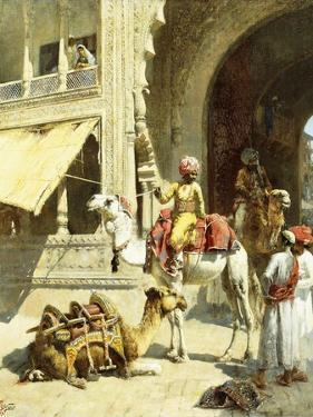 Indian Scene, 1884-89 by Edwin Lord Weeks