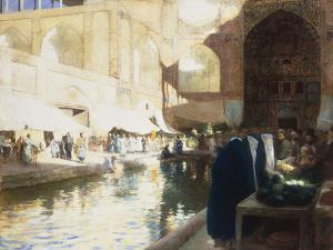 Isphan, Persia, c.1900-1901 by Edwin Lord Weeks