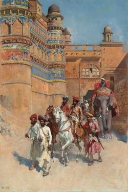 The Fort of Gwalior, Madhya Pradesh by Edwin Lord Weeks