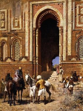 The Gateway of Alah-Ou-Din, Old Delhi, Late 19th Century by Edwin Lord Weeks