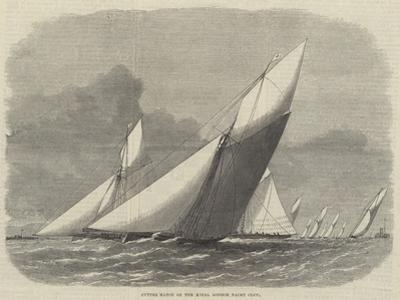 Cutter Match of the Royal London Yacht Club by Edwin Weedon