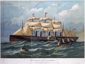 Pss 'Great Eastern on the Ocean, 1858 by Edwin Weedon
