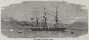 The Alabama at Port Royal, Jamaica by Edwin Weedon